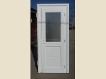 Klasszikus egyszárnyas beltéri ajtó - betétes + üveges - díszborítással.jpg