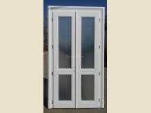 Klasszikus kétszárnyas beltéri ajtó - üveges kivitelben - díszborítással.jpg